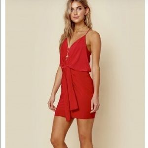 cd600cde9c47 MISA LOS ANGELES Dresses | Misa Domino Draped Mini Dress | Poshmark